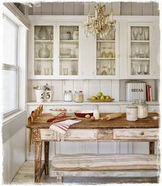 cocinas rusticas retro provenzal vintage