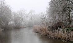 #mist #fogg #vorst #frost #winter #Hoogbolwerk #Bolsward #Friesland