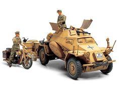 タミヤ 35286 MM 1/35* ドイツ4輪装甲車222(北アフリカ戦線) | ホビーショップタムタム