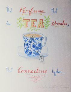 La Lune et les Etoiles: Vous reprendrez bien un peu de thé !