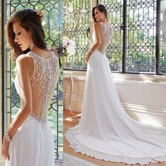 Risultati immagini per simple wedding dress
