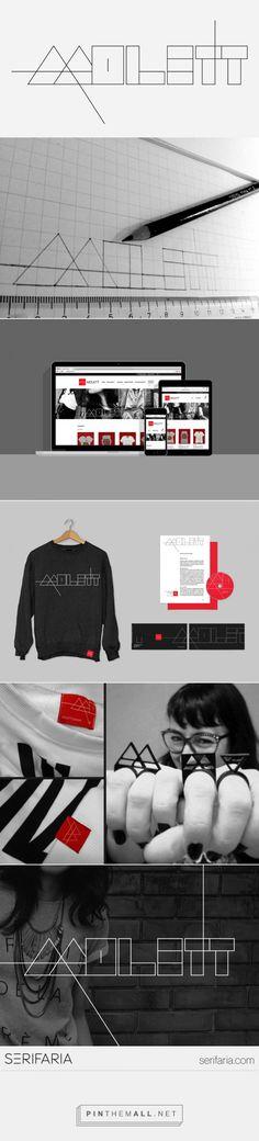 www.serifaria.com [SERIFARIA | graphic design studio] Identidade visual desenvolvida pela Serifaria para a Molett, A MOLETT uma marca de roupa que produz peças que tem o material moletom como base.