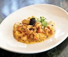 Crawfish And Potato Gnocchi With Ghost Pepper Cream