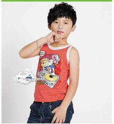 Summer Kids Fashion Tshirts Cartoon Vests Boy Casual Pullovers,Free Shipping K0825 from Reliable Boys Summer T-shirts