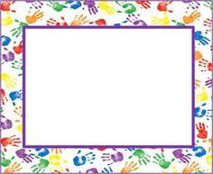 DIRIGIENDO MANITAS: bordes para fichas Borders For Paper, Borders And Frames, School Border, Page Borders Design, School Frame, English Lessons For Kids, Frame Background, Clip Art, Frame Clipart