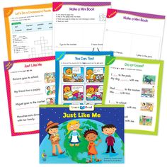 Just Like Me Ebook & Worksheets – Creative Teaching Press Improve Reading Comprehension, Reading Strategies, Math Minutes, Learn To Read Books, Nouns And Pronouns, Creative Teaching Press, Spelling Patterns, Math Work, Emergent Readers