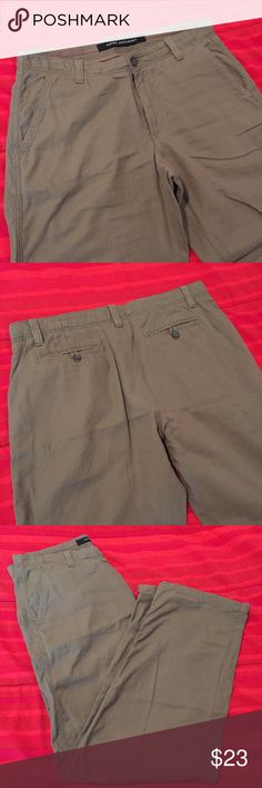 Mark Anthony Linen Pants 34x32 Excellent Condition! Mark Anthony Pants Chinos & Khakis