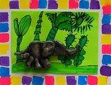Artsonia Art Exhibit :: Elmer the Clay Elephant- Grade 1- Alum Creek