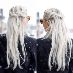 """""""Another view of this #halfup #hairstyle #hairstylist #snowday #fashion2015 #letitsnow #hairstylesforgirls #instibraid #instabraid #hairandstyles"""" Photo taken by @hairspirationbykylee on Instagram, pinned via the InstaPin iOS App! http://www.instapinapp.com (12/21/2015)"""