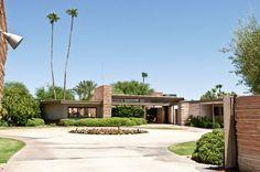 The Twin Palms Frank Sinatra Estate   #PalmSprings www.beaumondevillas.com