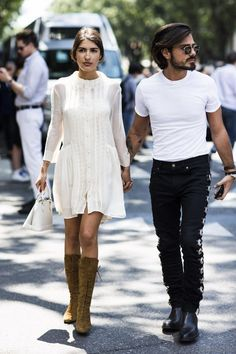 Couple Street Style & More Details