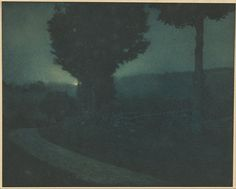File:Edward Steichen (American - (Road into the Valley -- Moonrise) - Google Art Project.jpg