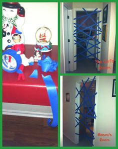 Elf on the Shelf - Hope Elfy is not planning on painting anything!