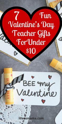 7 Fun Valentine's Day Teacher Gifts For Under $10