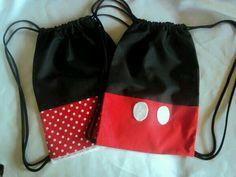 Morralitos Mickey y Miniee