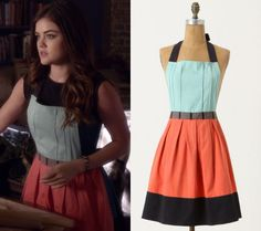 Aria s apron from pretty little liars episode taking this for Anthropologie cuisine couture apron