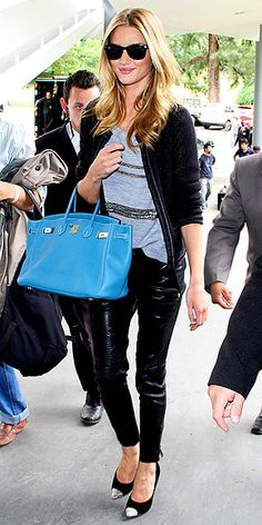 Rosie Huntington-Whiteley has such great style