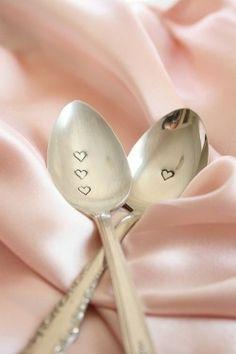 Engraving Sade's Silver Cutlery
