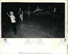 1981 Press Photo Clickety-Clack  Lorraine Sheahan teaches a tap dancing class