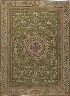 Oversized Antique Savonnerie Carpets