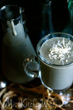 Polyjuice Potion Smoothie - Vegan Harry Potter Recipes via http://MissKitchenWitch.com