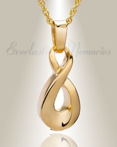 Gold plated Always cremation jewelry, gold memorial lockets and cremation keepsakes in hot styles