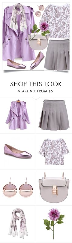 """spring fever"" by collagette ❤ liked on Polyvore featuring WithChic, women's clothing, women's fashion, women, female, woman, misses, juniors and pasteltrenches"