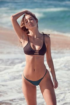 Slide View: 1: Out From Under Winnie Strappy Bikini Top