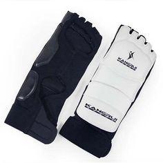 ff60e5477a5632 New White Foot Protector Men Women Sanda Wushu muay  thai taekwondo Karate jiujitsu Boxing Protective Gear mma Training Equipment