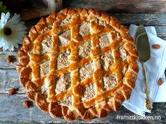 Fyrstekake - Fra mitt kjøkken Cheesecakes, Apple Pie, Food And Drink, Sweets, Baking, Desserts, Ramadan, Norway, Cupcake