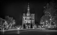 De Waag Deventer bij Nacht