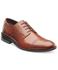 Stacy Adams Prescott Shoes - Lace-Ups & Oxfords - Men - Macy's Brown Dress Shoes, Lace Up Shoes, Me Too Shoes, Men's Shoes, Shoe Boots, Shoes Men, Women's Boots, Prom Shoes, Wedding Shoes