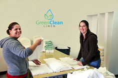 Green clean Linenis family owned and operated business #laundry service providers in St. Louis. We have many years of practical experience with both Eco-friendly and traditional linen options and we would be happy to talk to you more about your needs.Feel free to contact us for more info!