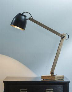 Poise is a bamboo table lamp inspired by the traditional anglepoise lamp of the 1930s. Poise is made from bamboo ply and comes with a spun aluminium shade, a fabric cord and powder coated steel fittings, including steel wing nuts to adjust the lamp height and angle.Size: H. 250-900mm        L. 600mm        W. 170mmDelivery time one to three weeks.Max 60w.All prices include GST.