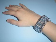 Picture of Make a Funky Safety Pin Bracelet