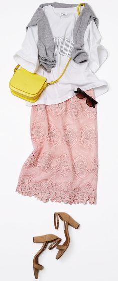 今週のレッスン:Tシャツの着こなしバリエーション(ルミネ大宮) | LUMINE MAGAZINE