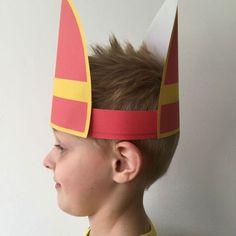 Sinterklaas knutselen; Leuke ideeën om te knutselen voor Sinterklaas - MamaKletst.nl