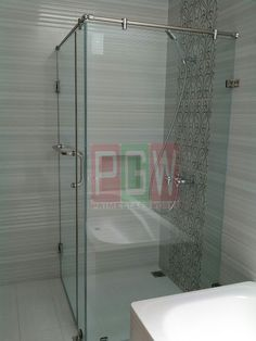 Shower Box Kaca Frameless Shower Box, Bathtub, Bathroom, Standing Bath, Washroom, Bath Tub, Bathtubs, Bathrooms, Bath