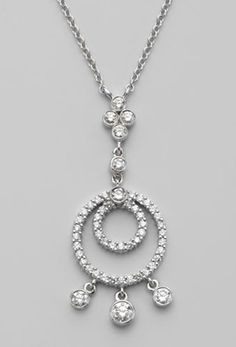 Diamond Pendant Necklace for