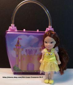 Princess Doll Pink Castle Storage Purse   eBay