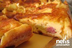 Patatesli Karışık Omlet1