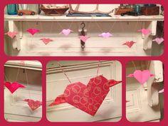 2.7/flying origami hearts