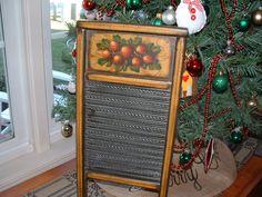 Old wash board.