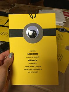 Assemble the Minions invite
