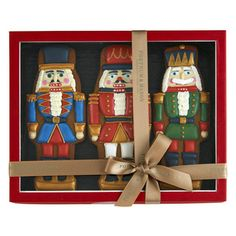 Nutcrackers cookies // Fortnum and Mason Nutcracker Crafts, Nutcracker Christmas, Christmas Tea, Christmas Gingerbread, Christmas Images, Santa Cookies, Iced Cookies, Holiday Cookies, Sugar Cookies