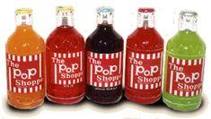 Pop Shoppe soda was the best!