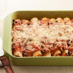Baked Chicken Enchiladas