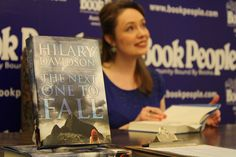 Hilary Davidson at BookPeople (Austin, Texas) - February 18, 2012.
