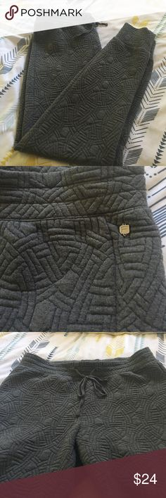 Sweatpants FABLETiCS winter leggings. Neat texture. Just bought them on poshmark, but they are a little big. Size L great condition Fabletics Intimates & Sleepwear Pajamas