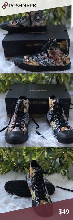 NWT Converse Digital Floral WMNS. Brand new, no led box. Price is firm!!! No trades. Converse Shoes Sneakers